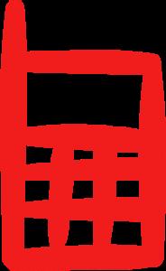 telefoonrood